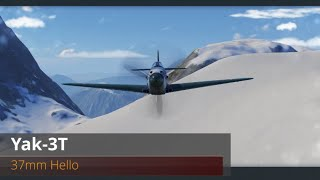 World of Warplanes | Yak-3T | 37mm Hello | Premium | Tier VII | Fighter