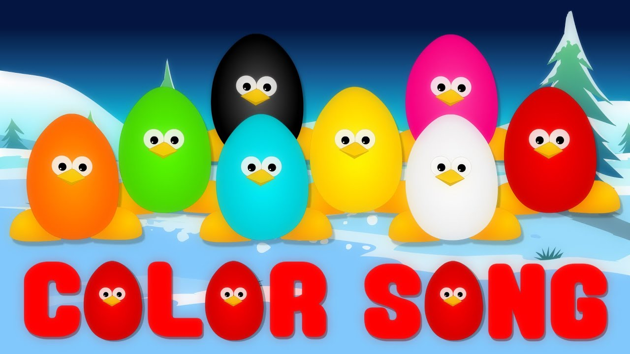 Color Song Surprise Eggs Video For Kids Youtube