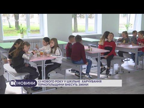 Телеканал ІНТБ: Із нового року у шкільне харчування Тернопільщини внесуть зміни