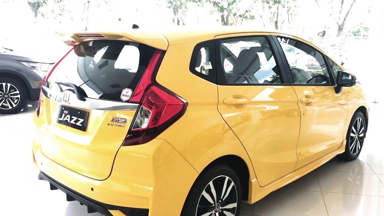 Honda Jazz Rs Warna Kuning Harga 2020 Kemungkinan Ada Kenaikan Kita Review Jazz Rs Manual Interior B Youtube