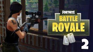 TÉRJÜNK VISSZA A MESÉS BATTLE ROYAL-HOZ! :D | Fortnite Battle Royale #2 - 11.06.