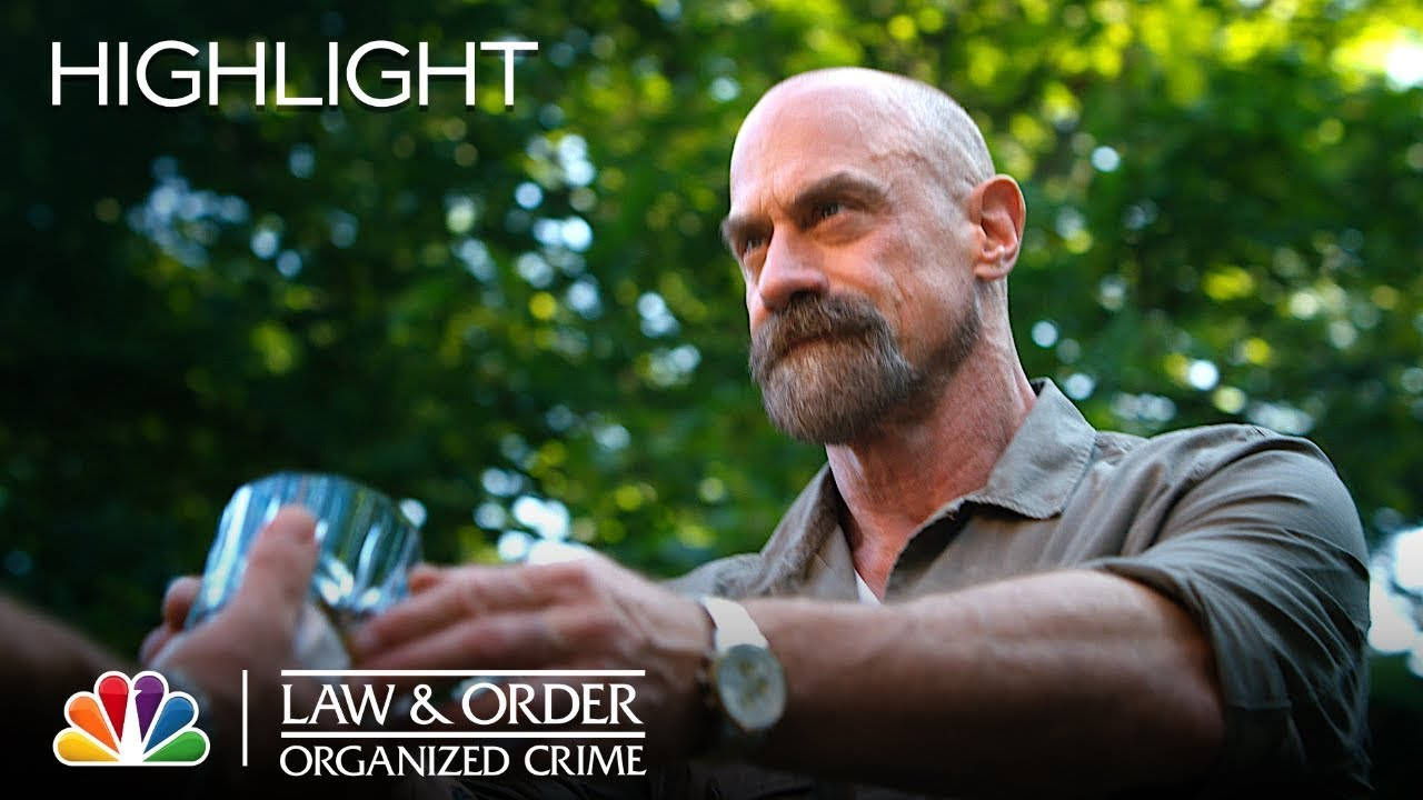 Stabler Serves Some Drinks and Intensity | Law & Order: Organized Crime