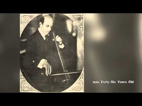 Video 14: J. Sebastian Bach: Pablo Casals and the Six Suites for 'Cello Solo by Steven Hancoff