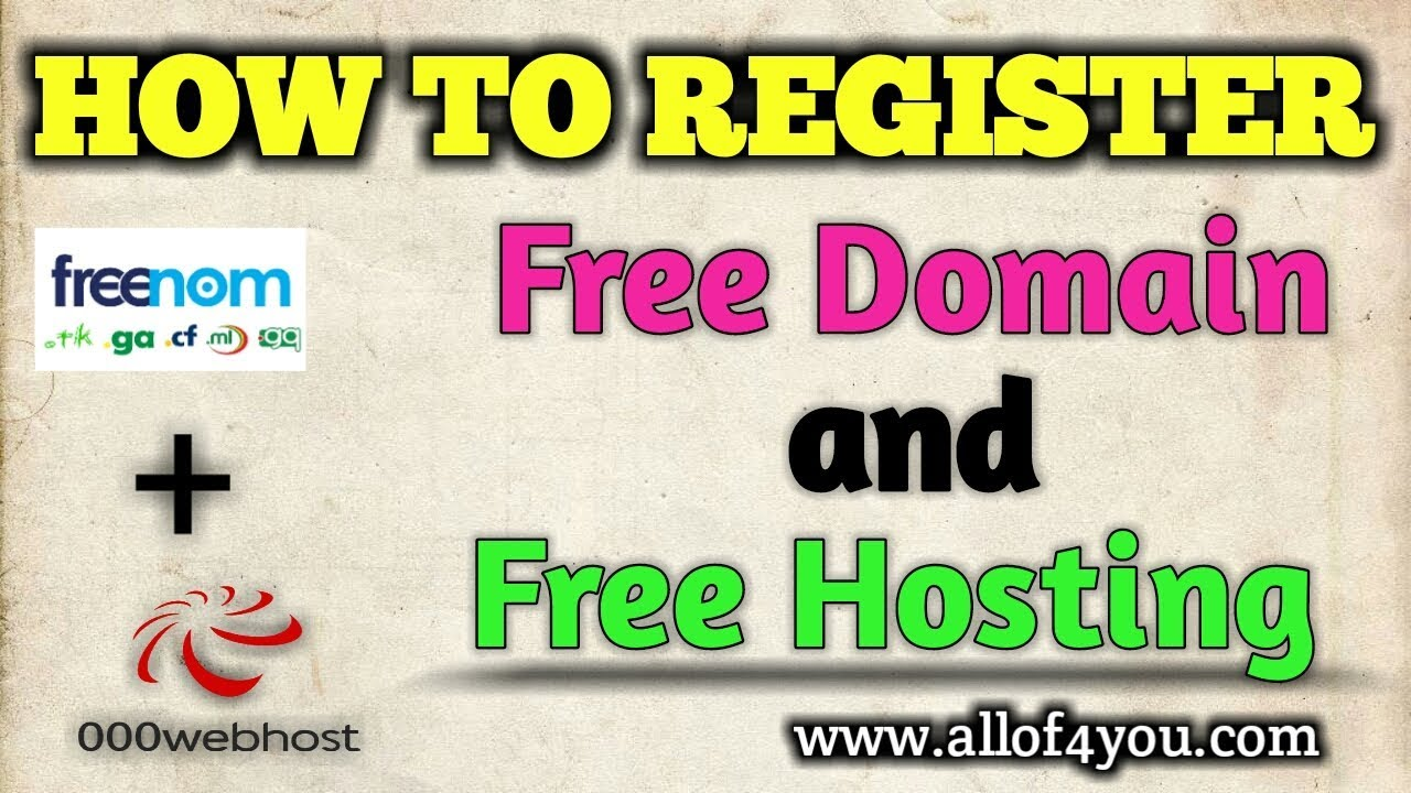How to Register A Free Domain And Free Hosting Life Time Use in hindi _Part-1_ My_Support