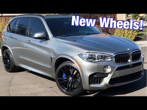 New Wheels For The X5M!