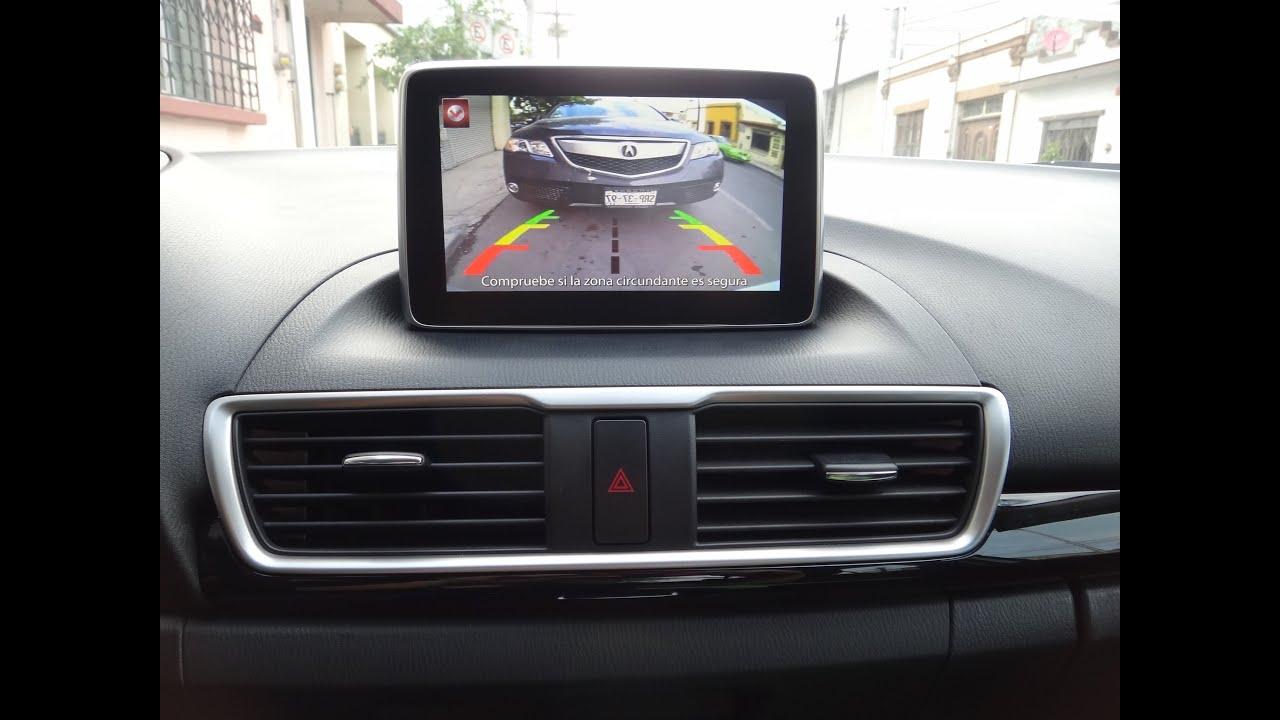 Instalacin De Cmara De Reversa Para Mazda 3 Hatchback