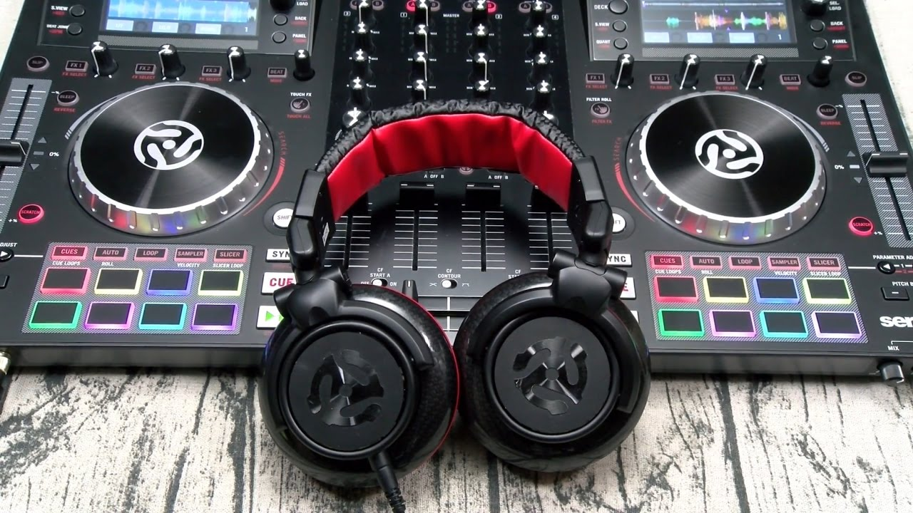 5113a2fb1a7 Numark Red Wave Carbon Professional Mixing Headphones - YouTube