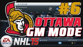 "NHL 15: GM Mode Commentary - Ottawa ep. 6 ""Battle of Ontario / Round One"""