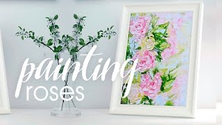 ПИШУ РОЗЫ МАСЛОМ Painting Roses with Oil  |  Alice Wood Artist