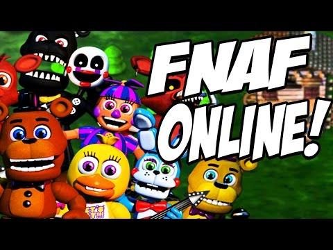 MULTIPLAYER FNAF | FNaF World: Battlegrounds #1 (FNAF ONLINE!)