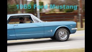 1965 Ford Mustang 260 V8 & 3-speed standard in 4K road test & tour
