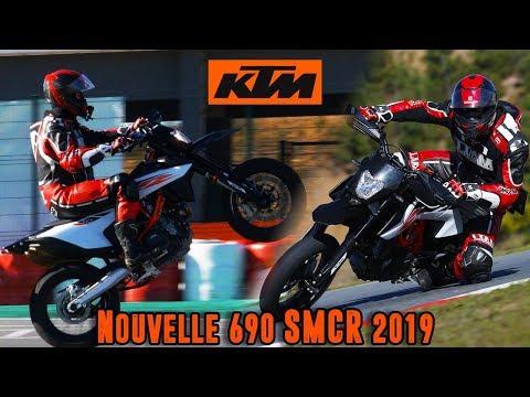 Je découvre la KTM  SMCR   !