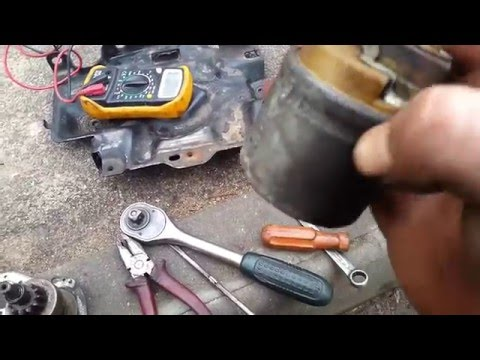 Как отремонтировать стартер Пежо 307