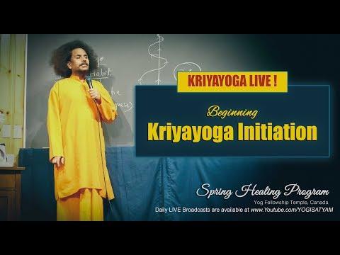 Kriyayoga LIVE 19-05-2018 8am at Yog Fellowship Temple, Canada | CLASS #1 (ENGLISH)