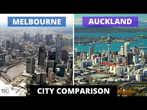 Melbourne Vs Auckland | City Comparison | The Infotainment Channel