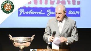 Draw Ceremony - French Open 2014 - Roland Garros