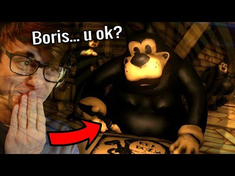 BENDY CHAPTER 4 IS... Uh, Boris Look At You!! Did Alice..? | Bendy and The Ink Machine Downward Fall