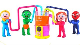 Tommy And His Friends Make Healthy Smoothies 💕 Cartoons For Kids