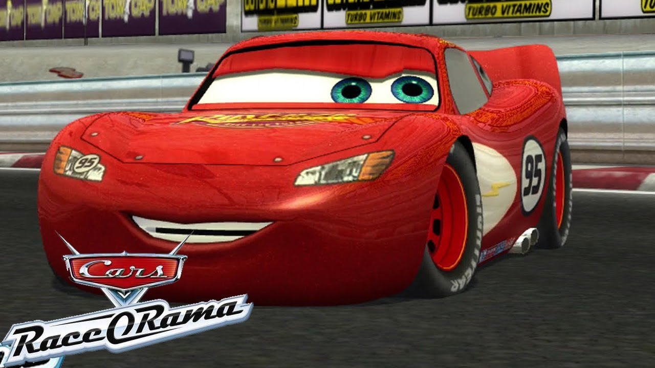 Cars Race O Rama Chick Hicks Lightning Mcqueen Gameplay Full