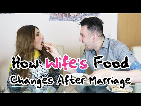 How Wife's Food Changes After Marriage | OZZY RAJA