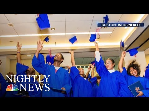 Unique Boston Program Pays Gang Members To Go To School  NBC Nightly News