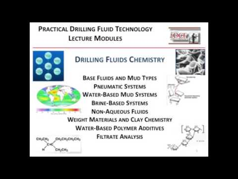 Overview of Drilling Fluids School