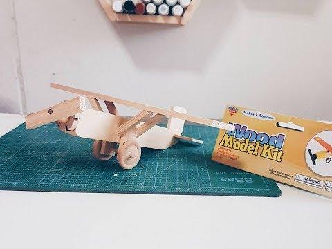 DIY Wooden Airplane