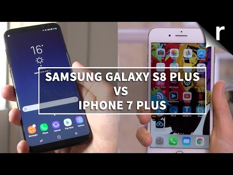 Galaxy S8 Plus vs iPhone 7 Plus: Samsung versus Apple flagships!