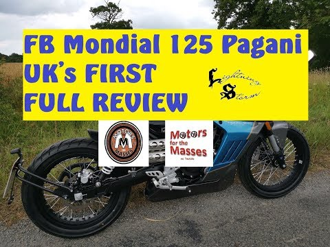 FB Mondial Pagani 125 UK's FIRST FULL Review