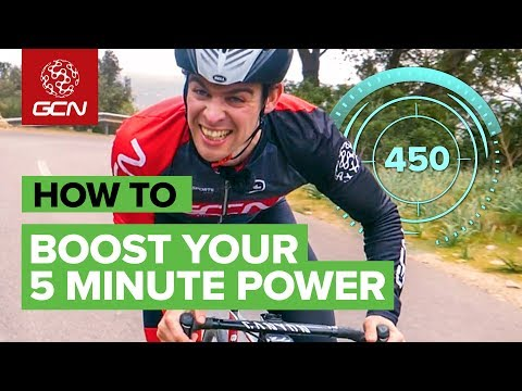 How To Boost Your 5 Minute Power On The Bike | VO2 Max Training For Cyclists