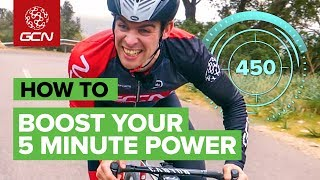 How To Boost Your 5 Minute Power On The Bike