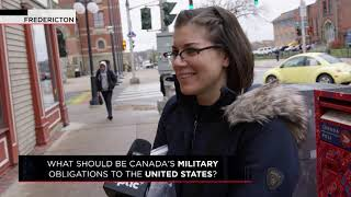 What should be Canada's military obligations to the United States? | Outburst