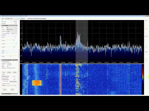 American Forces Network (AFN Radio News) Ads w/ RTL SDR (RTL2832), Upconverter and SDR Sharp