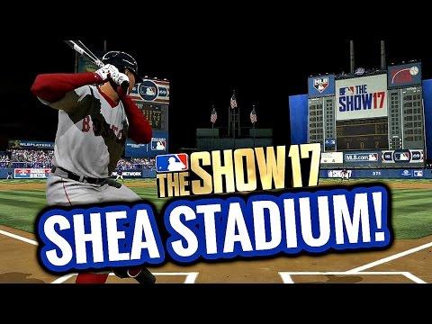 MLB THE SHOW 17 CLASSIC STADIUM GAMEPLAY! SHEA STADIUM! RED SOX vs ROCKIES