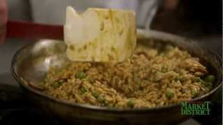 How to Make Wild Mushroom and Spring Pea Risotto  Market District