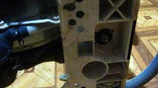 кака снять амортизатор со стиральной машинки с вертикальной загрузкою Indesit  Indezit Witl 106/86