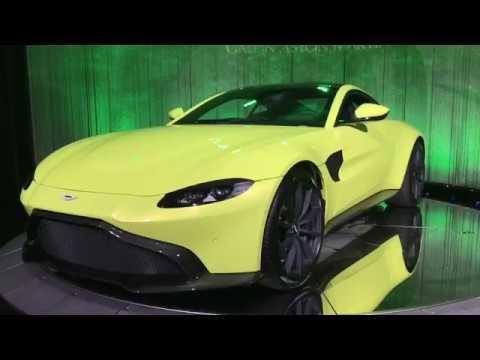 WORLD PREMIERE: 2019 Astorn Martin Vantage @ 2017 LA Auto Show 1