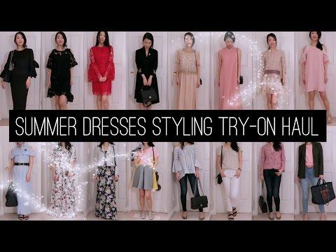 2017 Dresses - Spring/Summer Styling Try-On Haul | FashionablyAMY