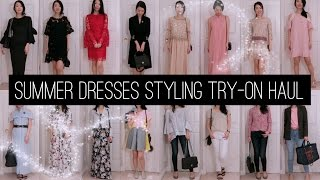 2017 Dresses - Spring/Summer Styling Try-On Haul | FashionablyAMY