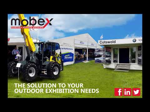 Mobex Outdoor Exhibition Solutions 2018
