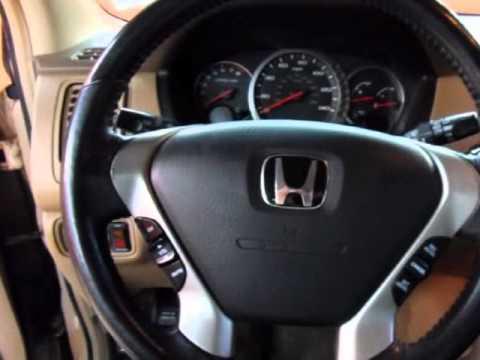 2003 Honda Pilot Ex With Leather Dvd Rear Entertainment