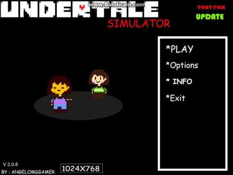 Undertale Simulator Update 2 Me vs Jalen PART 2