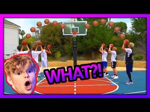 2HYPE Basketball Shooting RELAY RACE !! FT. Tristan Jass