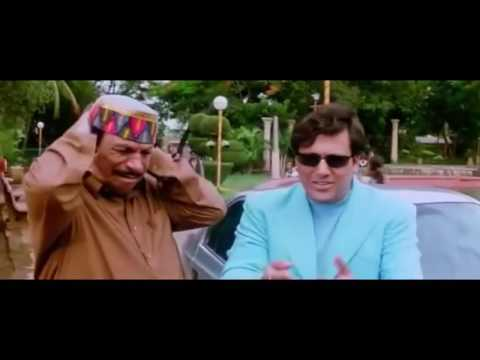 Govinda , Raveena Tandon , Kader Khan All Comedy Scenes Waah! Tera Kya Kehna Movie