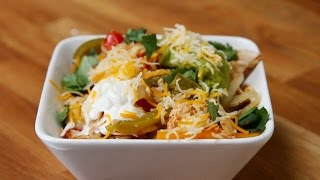 Easy Chicken Fajita Bowls