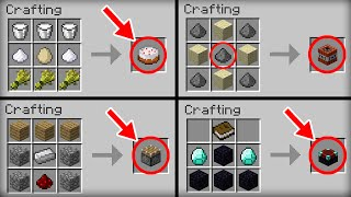 Minecraft: 10 Crafting Recipes We All Forget