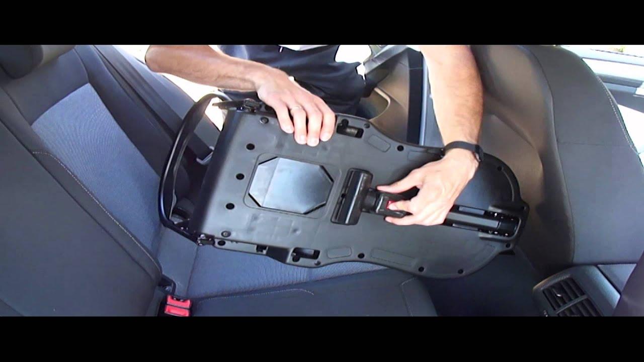 Tutorial Isofix Einbauen Isofix Kindersitz Montage