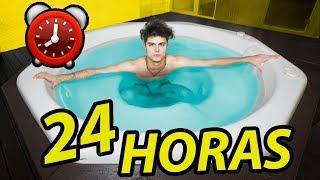 24 HORAS NO JACUZZI  ( DESAFIO )