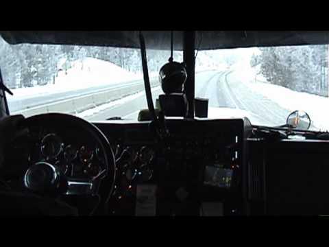 A trucker's song (truckin in montana)