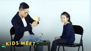 Crystal Teaches a Magician a New Trick | Kids Meet | HiHo Kids